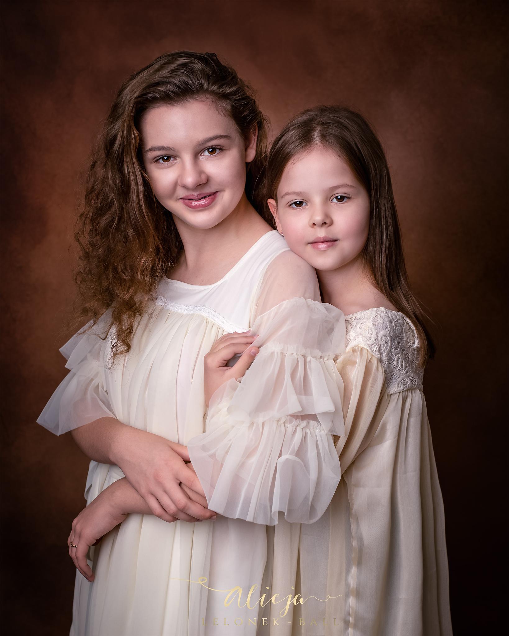 Ela i Hania – sesja sióstr